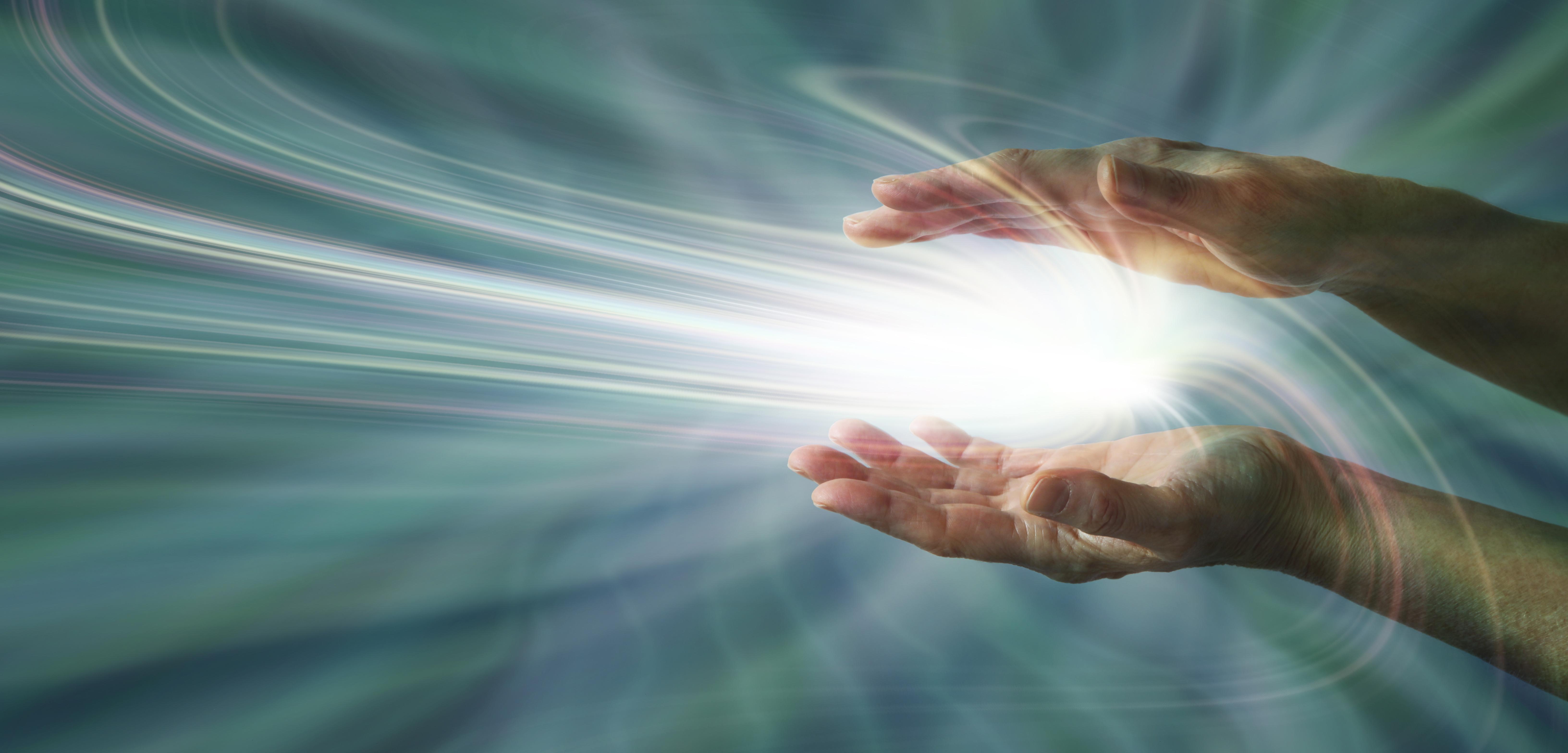 Spirituelles Heilen durch Handauflegen